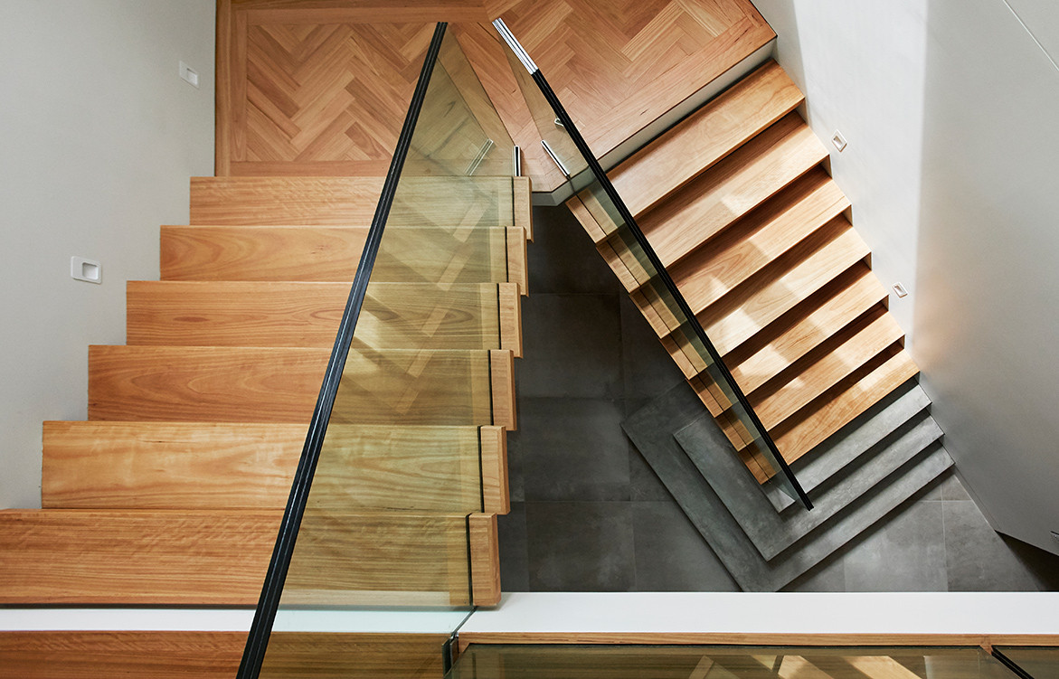 Earp Bros x Webber Architects cc Alexander McIntyre Photography | staircase