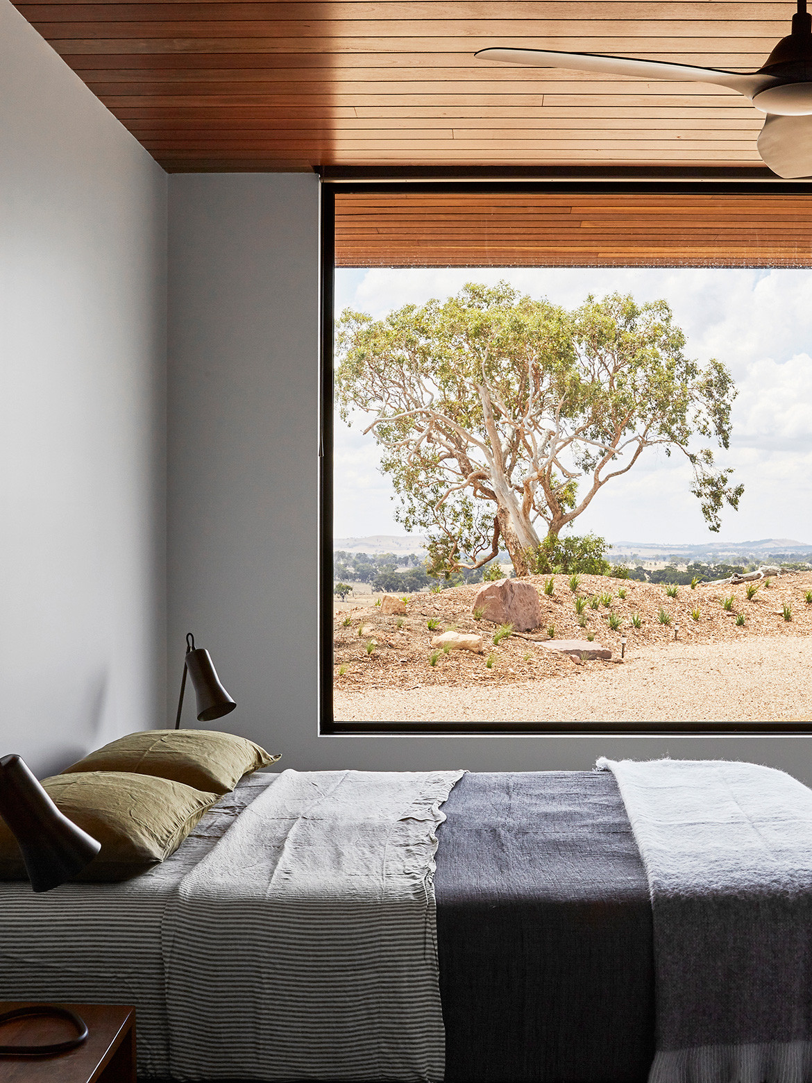 Elemental House Ben Callery Architects cc Dave Kulesza bedroom