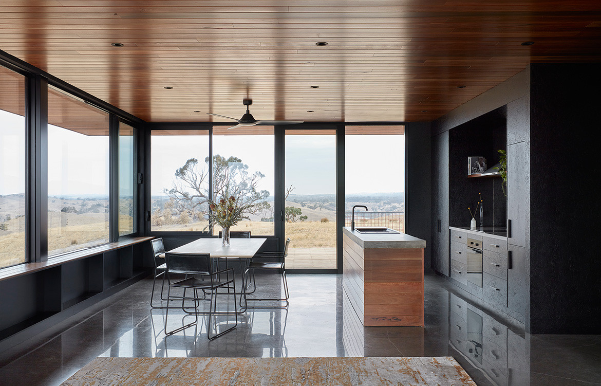 Elemental House Ben Callery Architects cc Dave Kulesza kitchen dining