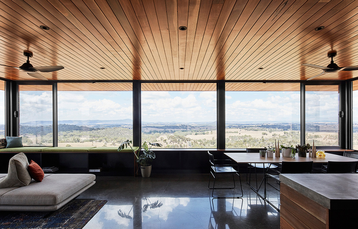 Elemental House Ben Callery Architects cc Dave Kulesza open plan