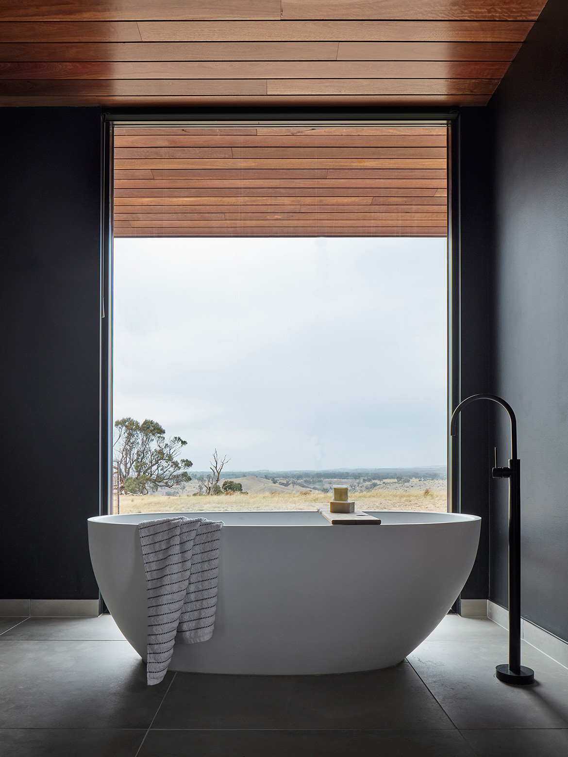 Elemental House Ben Callery Architects cc Jack Lovel bathroom