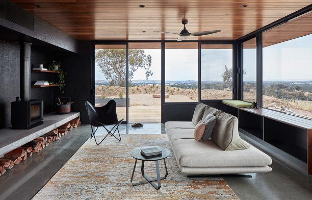 Elemental House Ben Callery Architects cc Jack Lovel living room