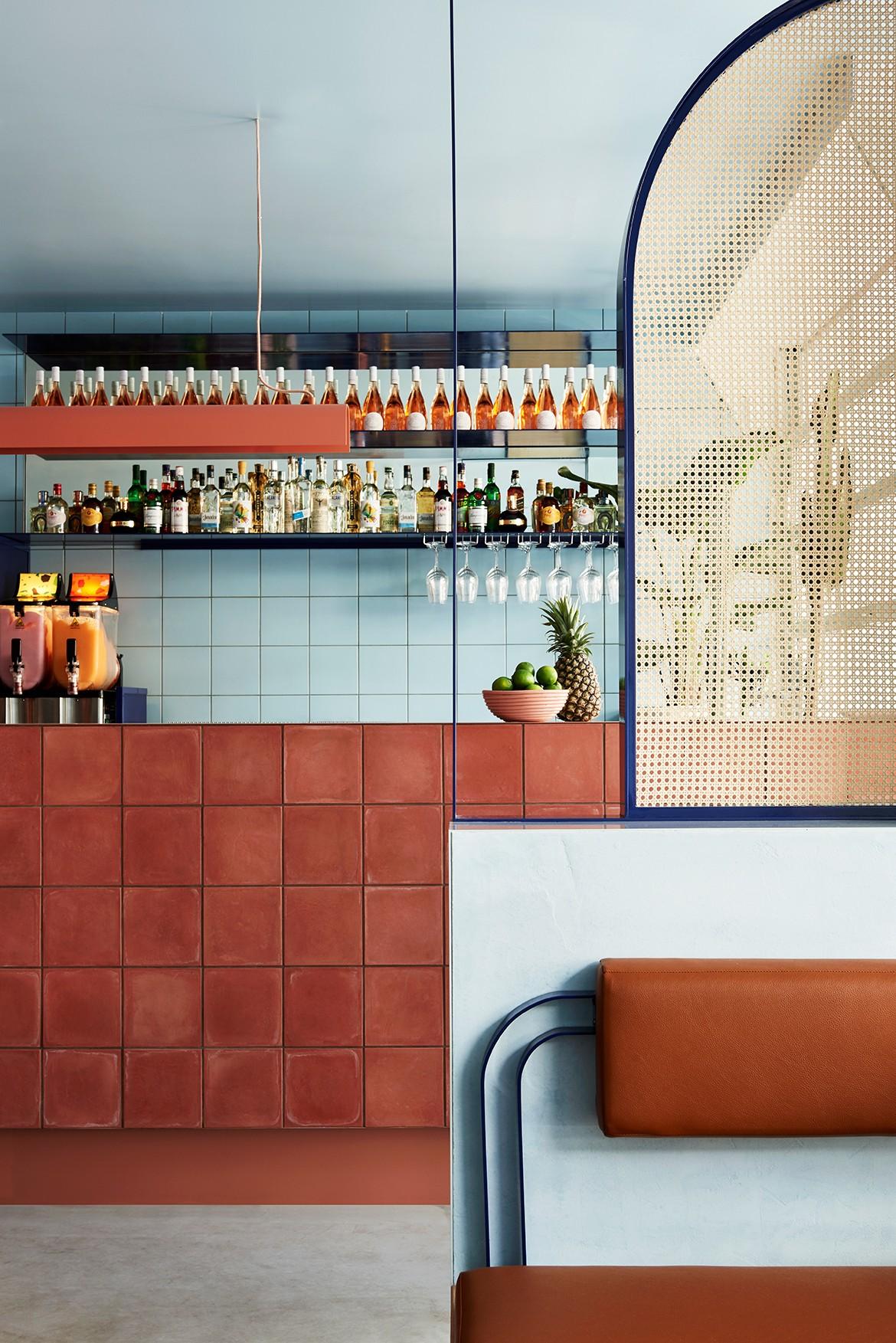 Fonda Bondi by Studio Esteta Photography by Tessa Ross-Phelan bar