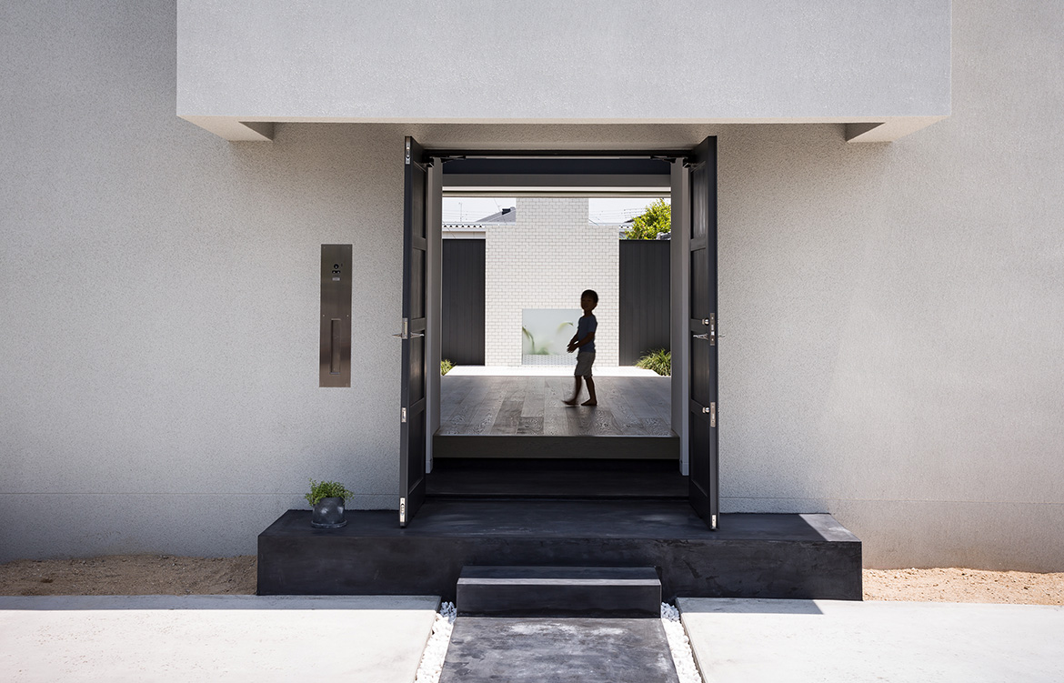 FORM Architects House With Scenes entrance