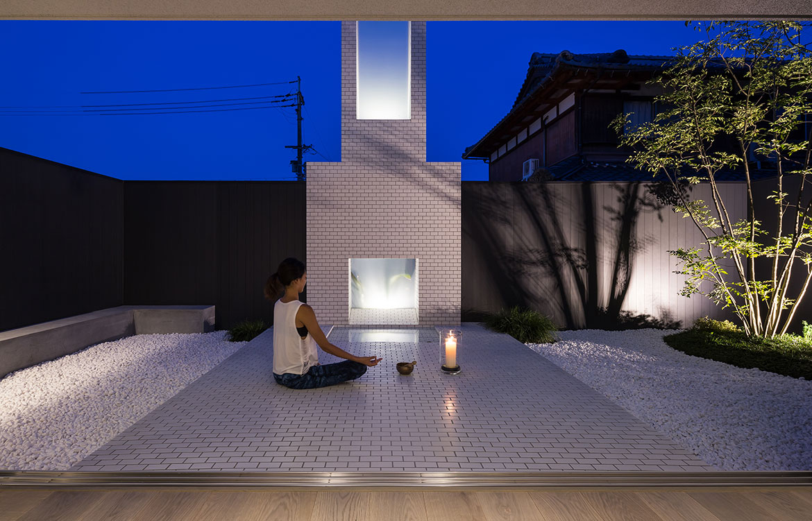 FORM Architects House With Scenes patio