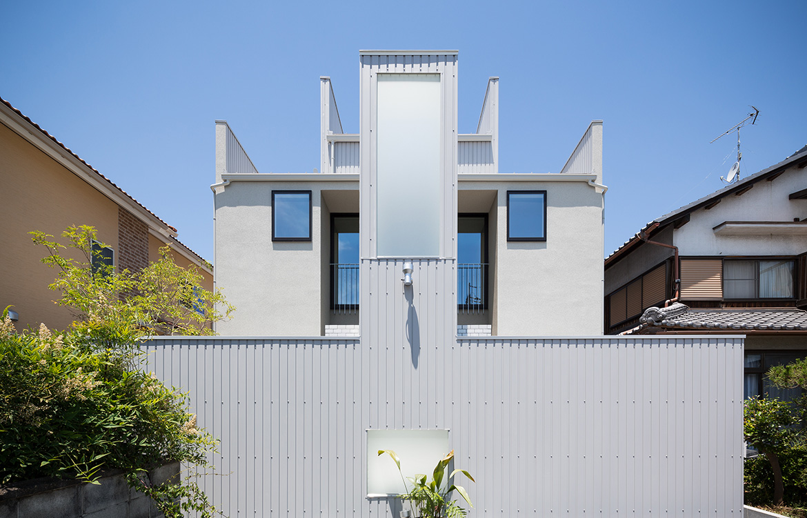 FORM Architects House With Scenes streetscape