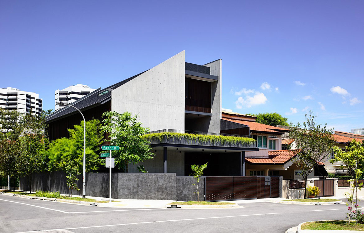 Faber Drive House HYLA Architects cc Derek Swalwell street view