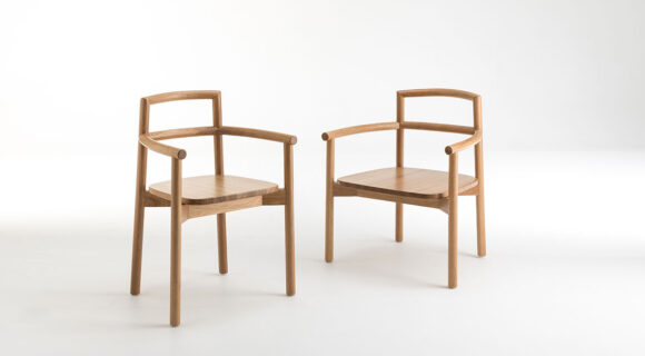 Fable Oak Armchair