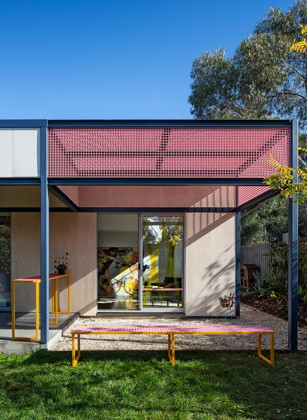 Family Framework House Sibling Architecture cc Christine Francis balcony