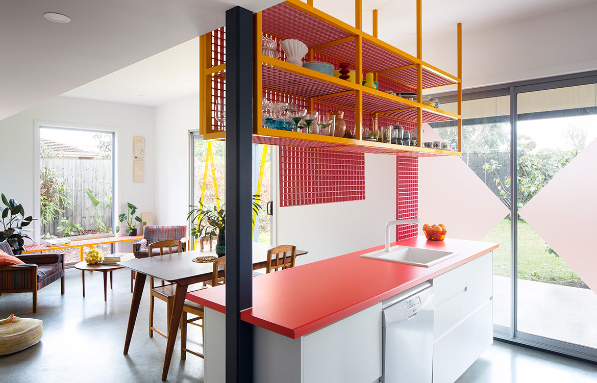 Family Framework House Sibling Architecture cc Christine Francis kitchen