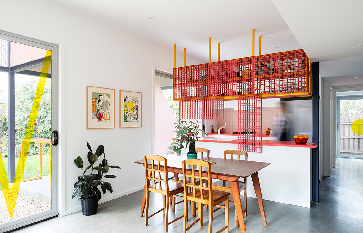Family Framework House Sibling Architecture cc Christine Francis dining