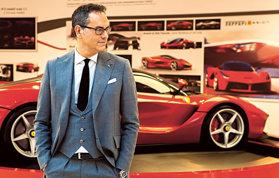 Flavio Manzoni - Ferrari - Vivid  Ideas | Habitus Living