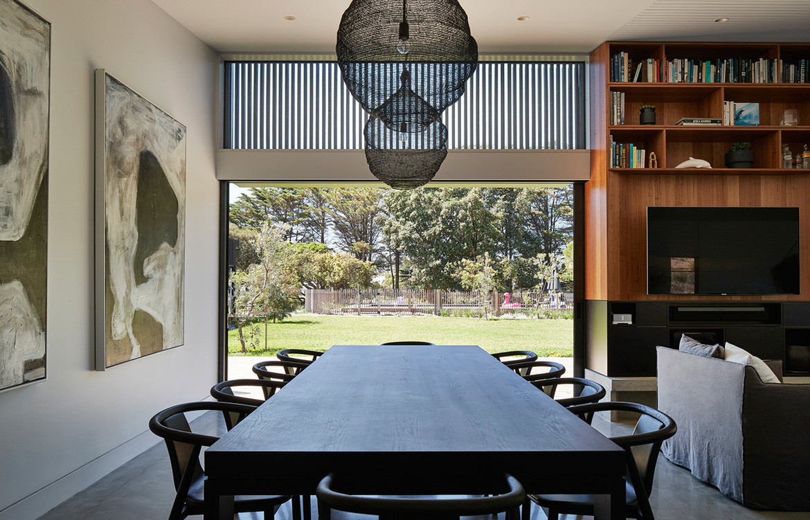First Lessons House Ray Dinh Architecture cc Peter Bennetts dining area