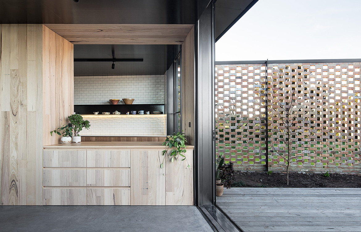 Fish Creek House Edition Office indoor outdoor