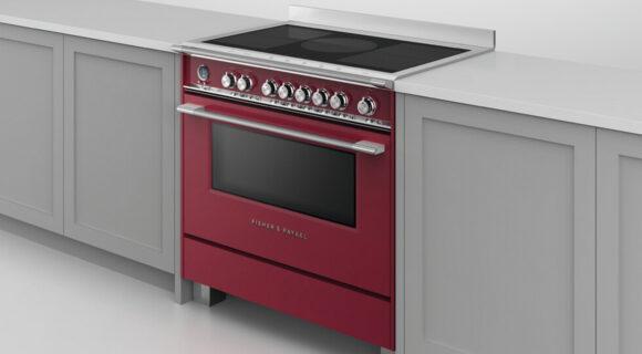 Freestanding Induction Cooker, 90cm, 5 Zones with SmartZone