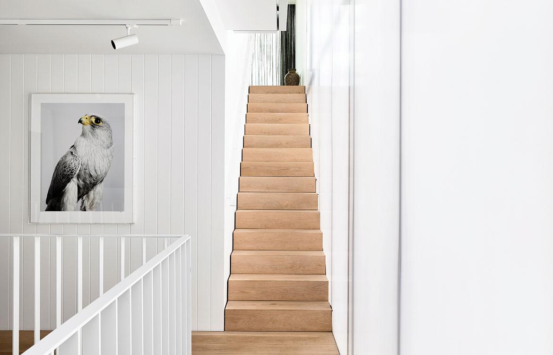 Fitzroy Lane House Kennedy Nolan CC Derek Swalwell stairs