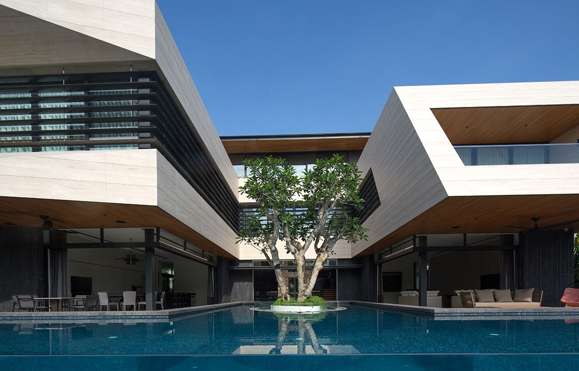Forever House Wallflower Architecture Design Photography by Albert Lim exterior pool