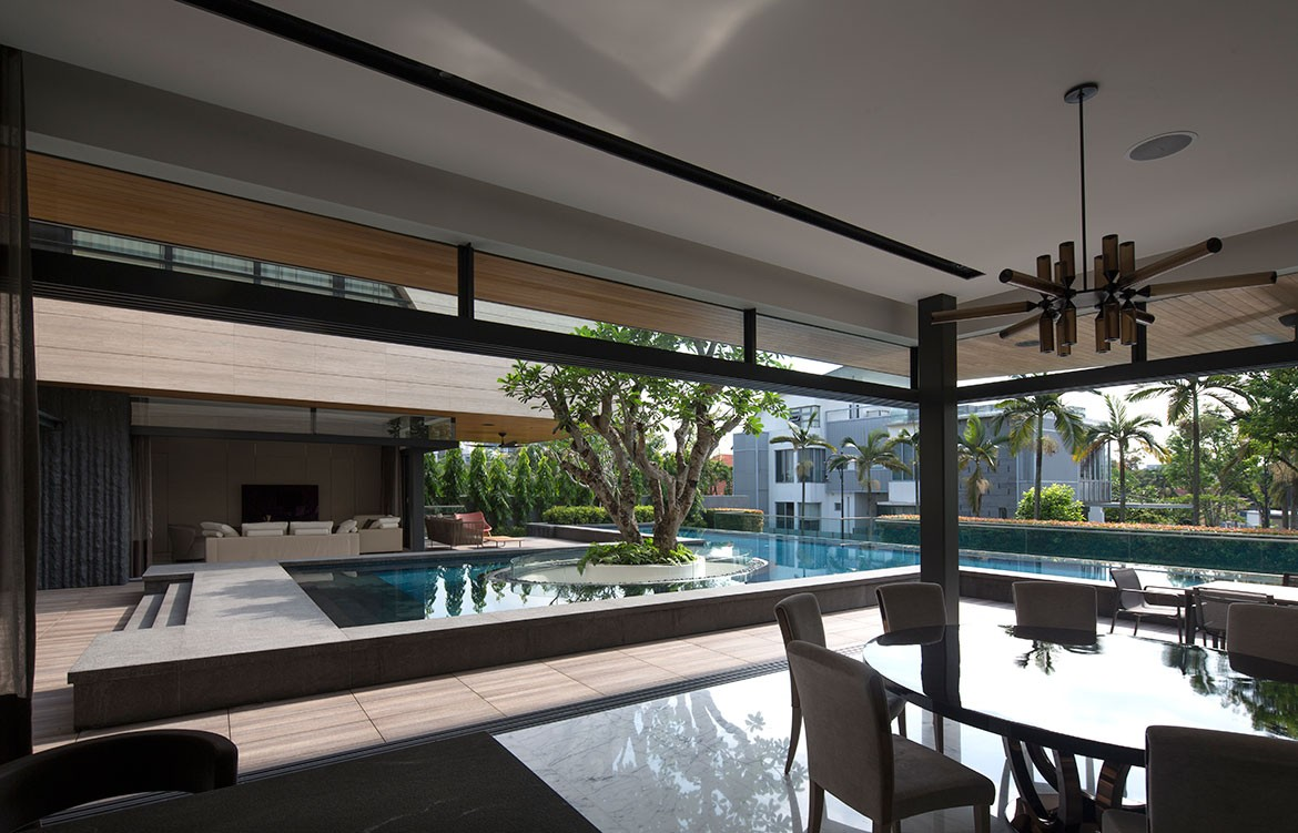 Forever House Wallflower Architecture Design Photography by Albert Lim pool