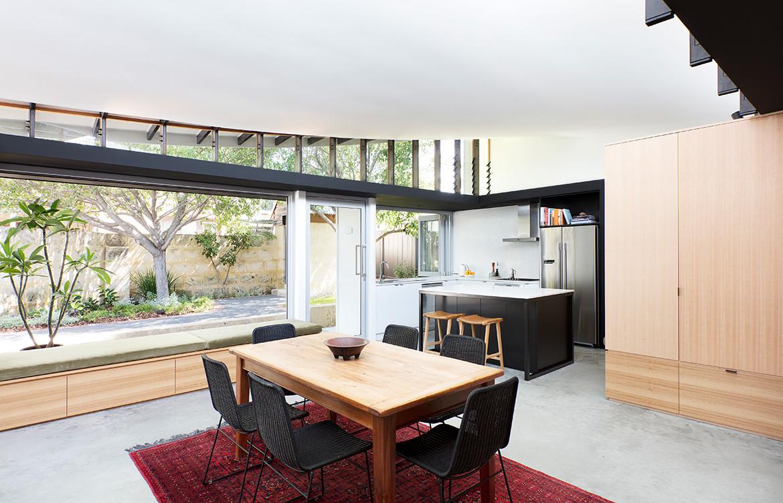 Forrest Street Philip Stejskal Architecture CC Bo Wong dining kitchen