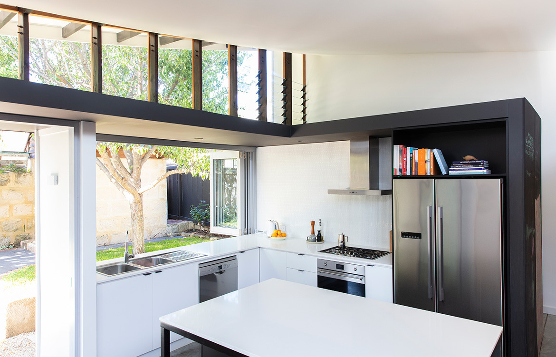 Forrest Street Philip Stejskal Architecture CC Bo Wong kitchen