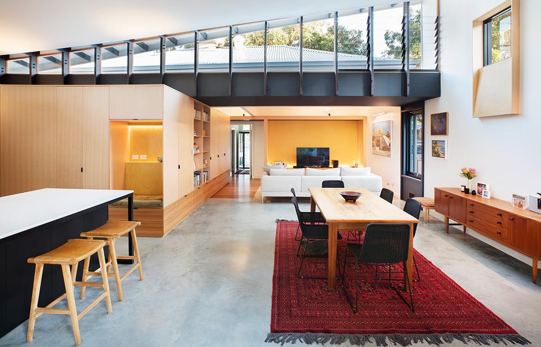 Forrest Street Philip Stejskal Architecture CC Bo Wong open plan