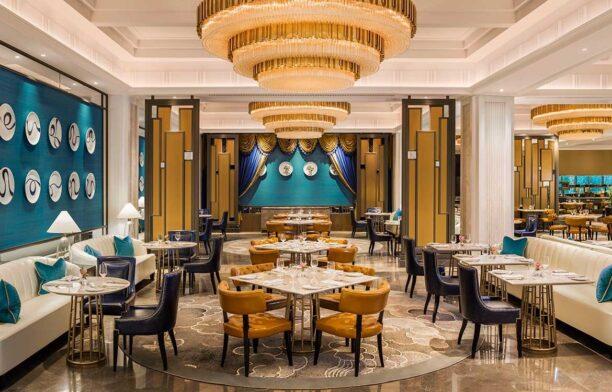 G.A Design St Regis Hotel dining