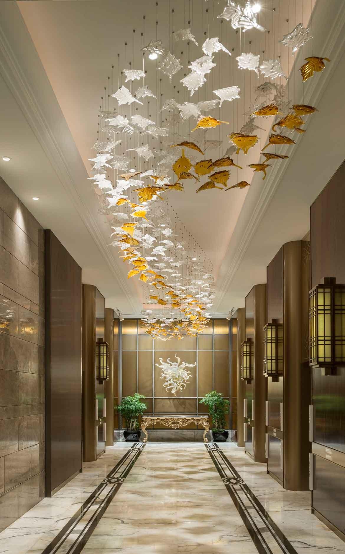 G.A Design St Regis Hotel elevator