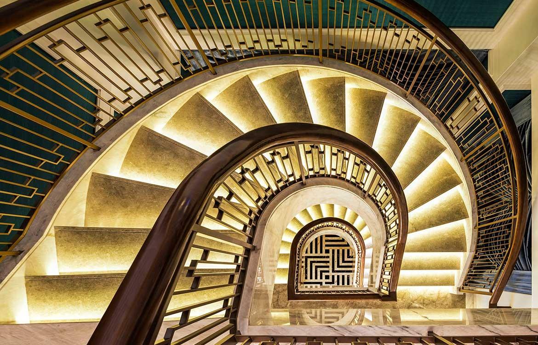 G.A Design St Regis Hotel stairs