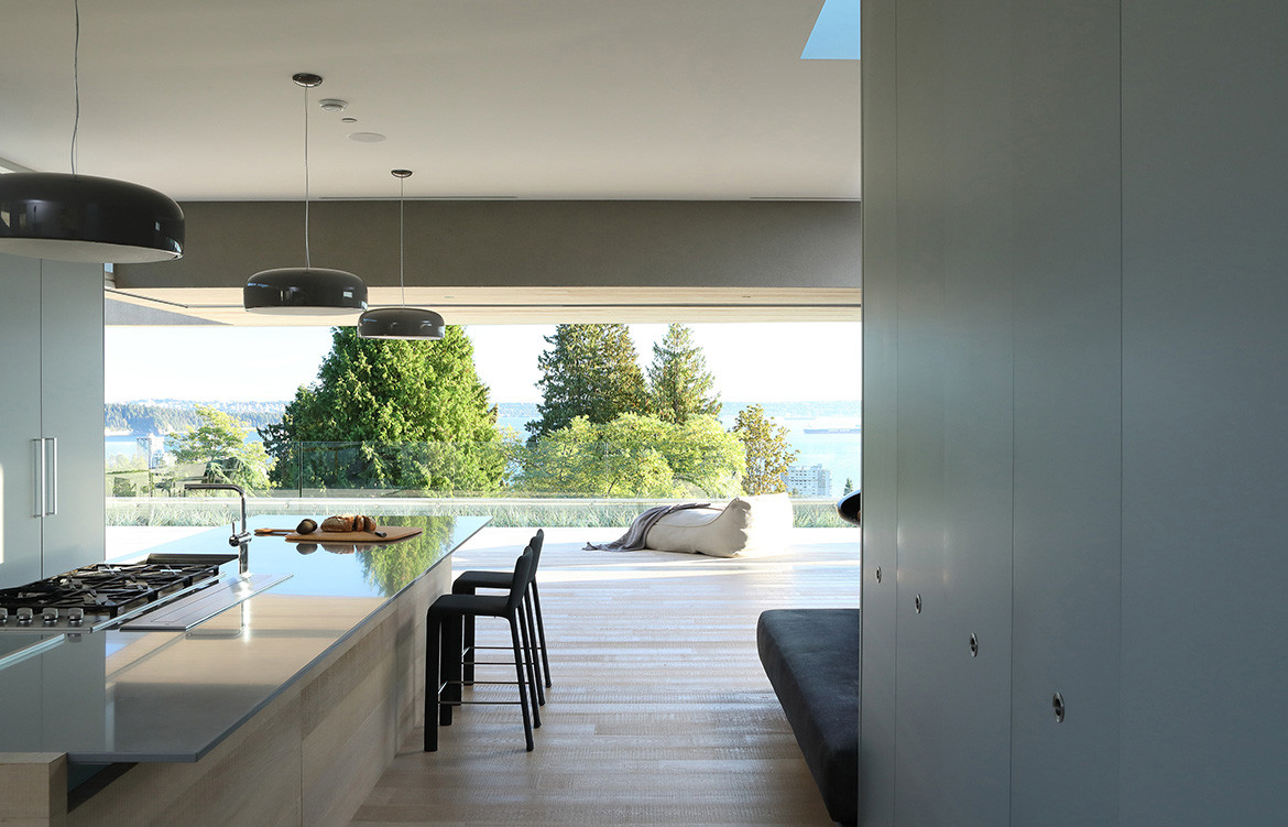 GDay House Mcleod Bovell Modern Houses cc Ema Peter kitchen and breakfast bench