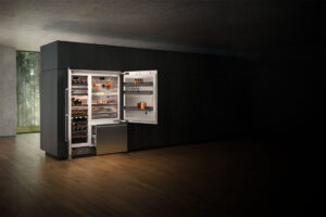 Fridge Freezer Residential Kitchen