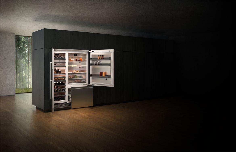 Fridge Freezer Residential Kitchen