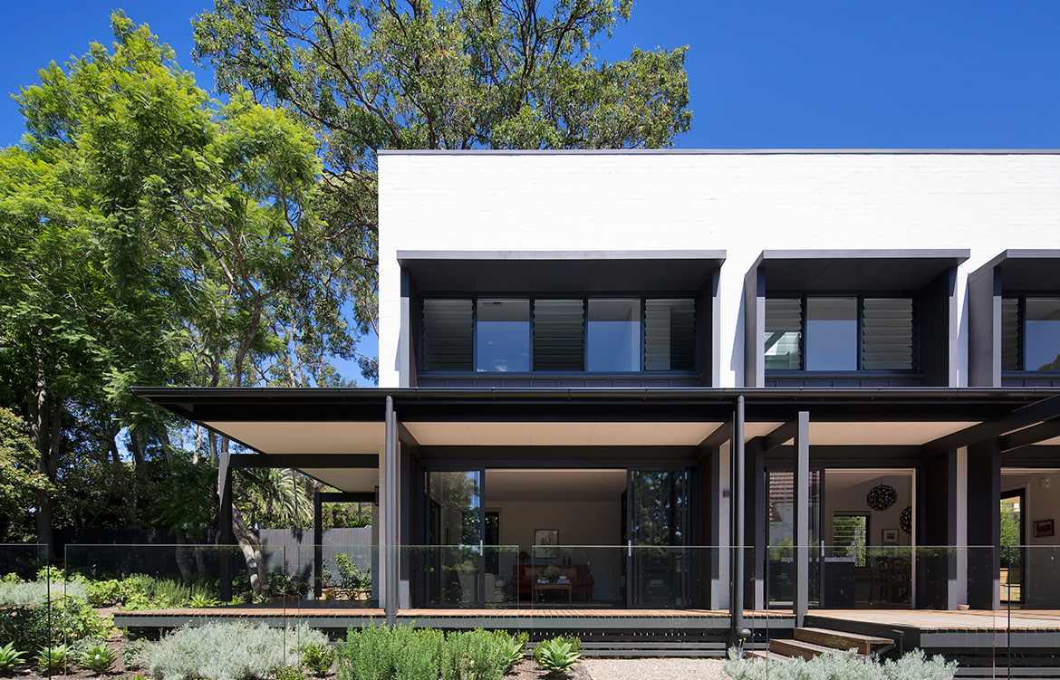 Garden House James Design Studio CC Simon Whitbread facade