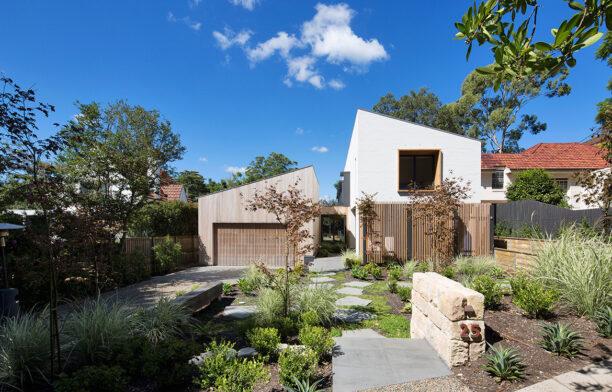Garden House James Design Studio CC Simon Whitbread house entrance