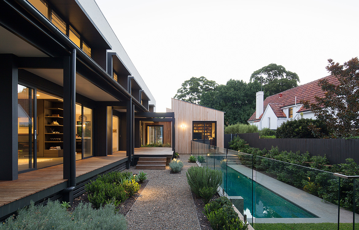 Garden House James Design Studio CC Simon Whitbread pool