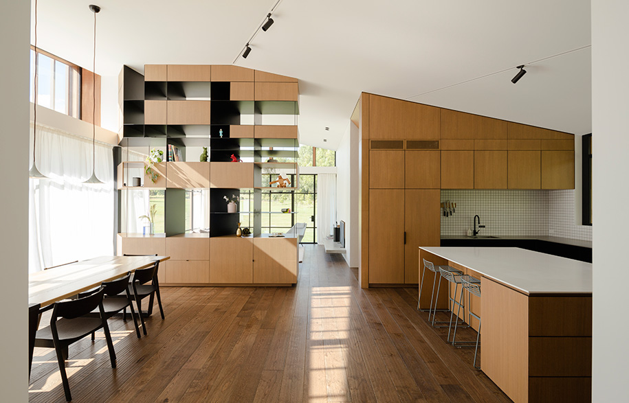 Glamuzina Architects Matakana kitchen dining