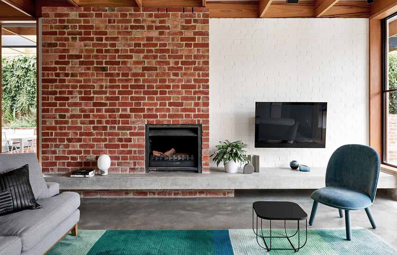 Glen Iris House Pleysier Perskins living room