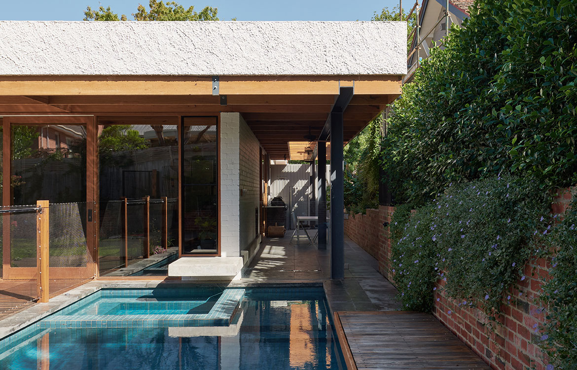 Glen Iris House Pleysier Perskins pool