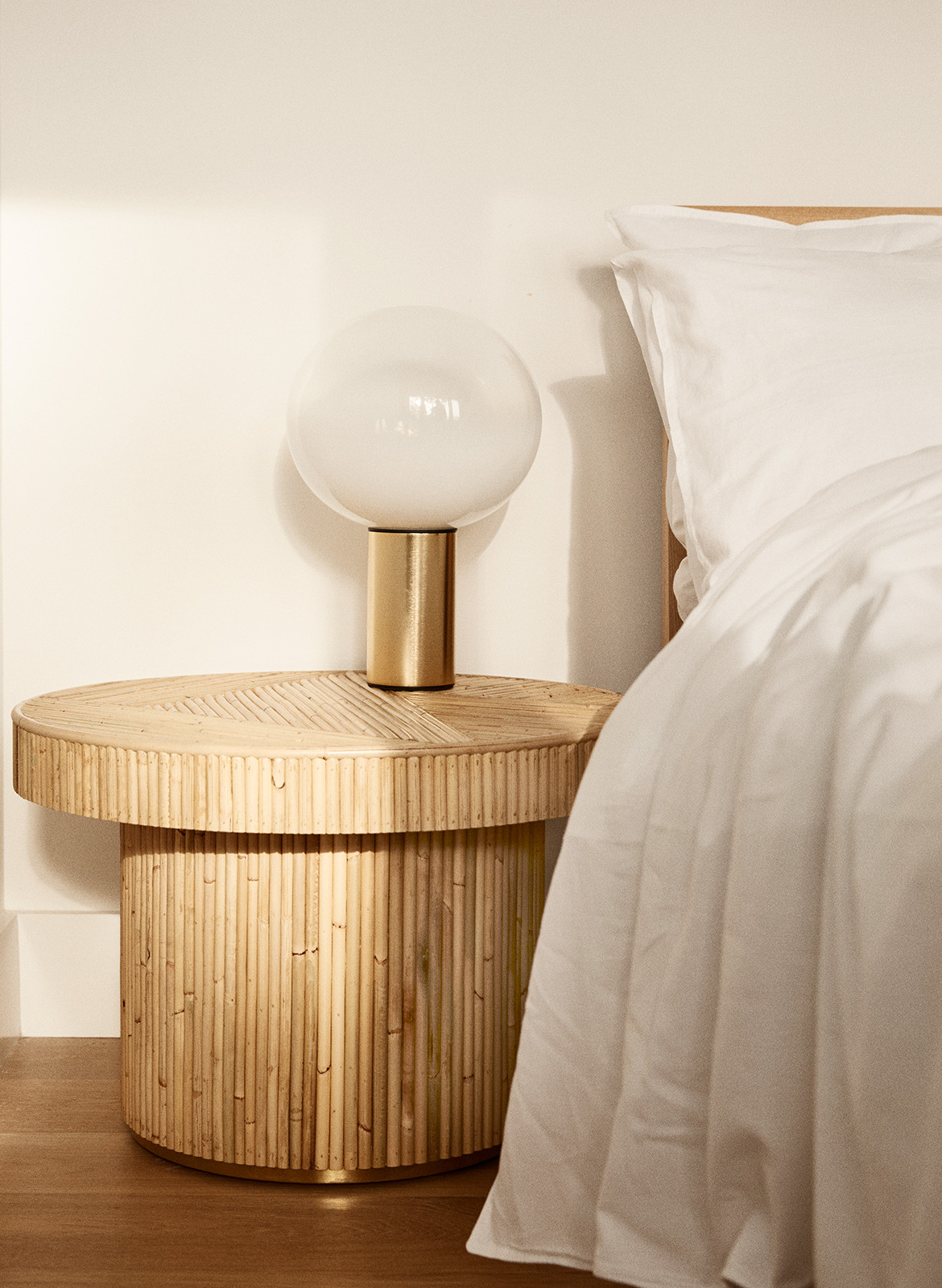 Golden Sarah Ellison Studio CC Dave Wheeler bed side table