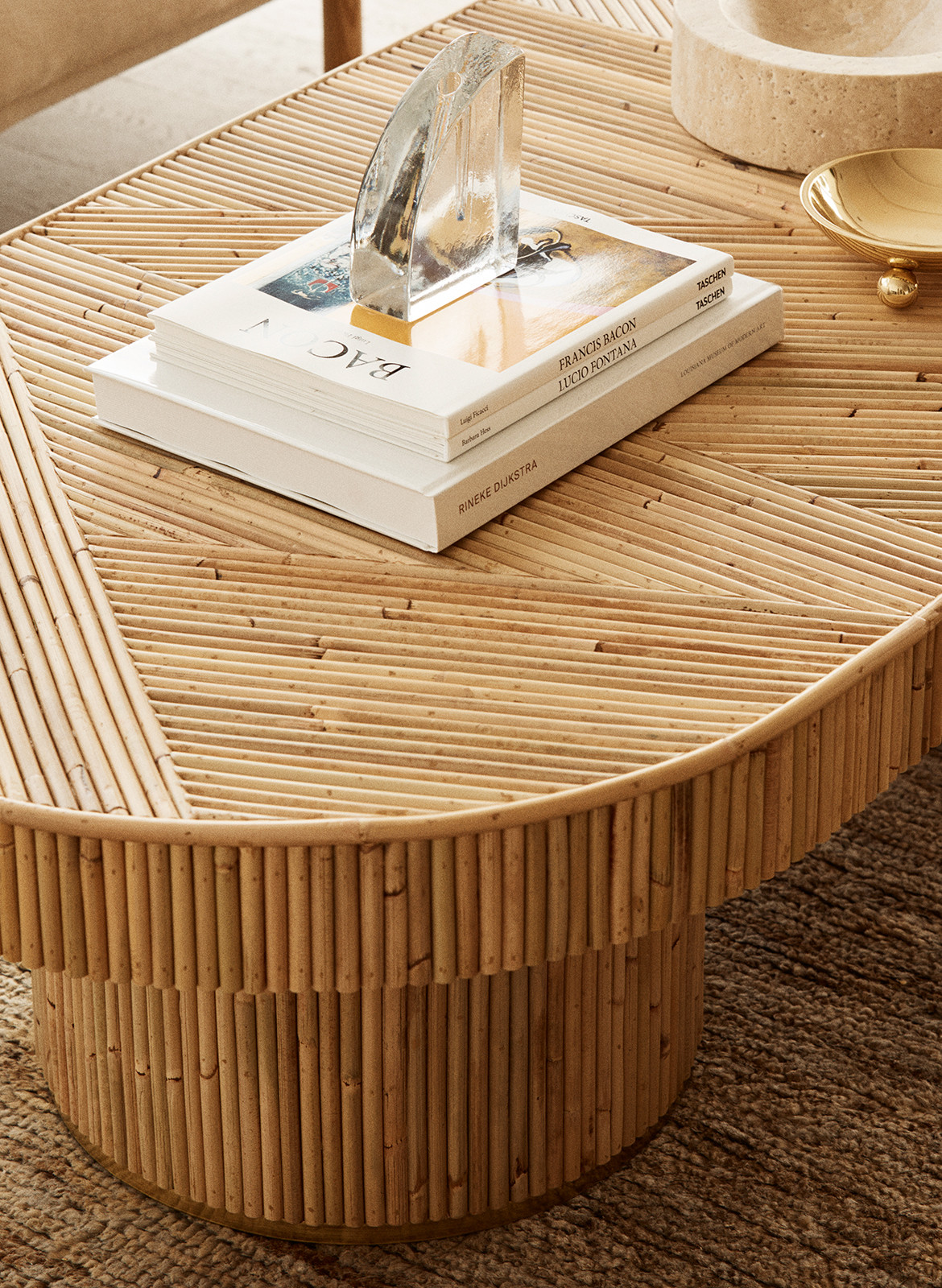 Golden Sarah Ellison Studio CC Dave Wheeler coffee table details