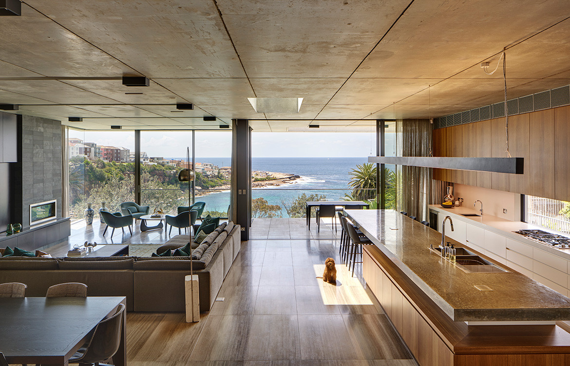Gordons Bay Residence PopovBass open plan