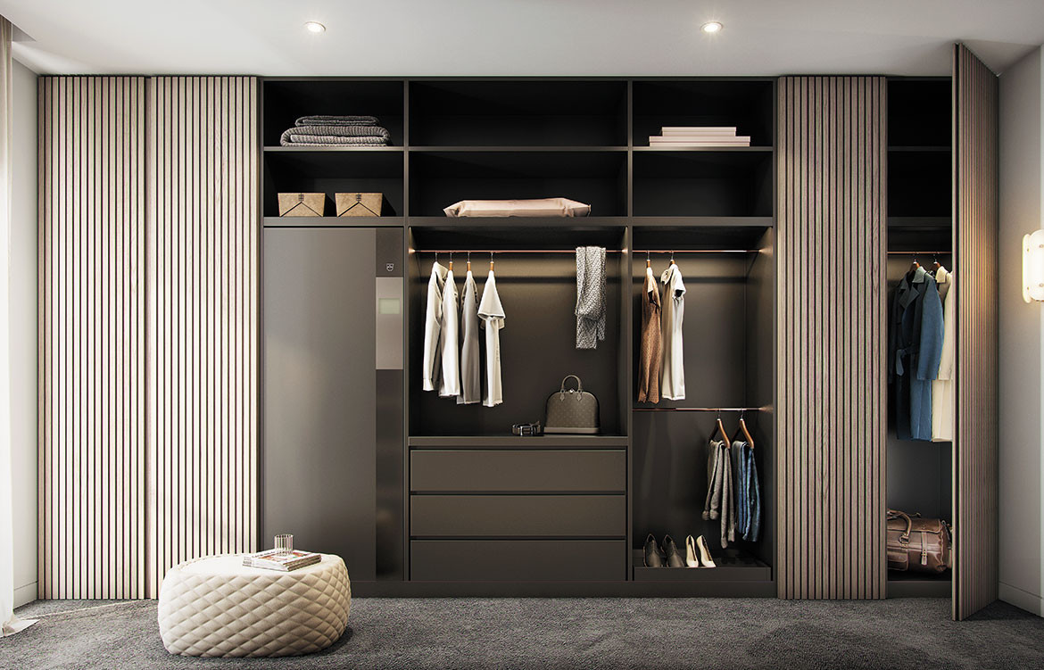 Refresh Butler Dark Wardrobe