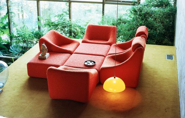 Grant Featherston Numero Lounging Set 1973 Australian furniture design