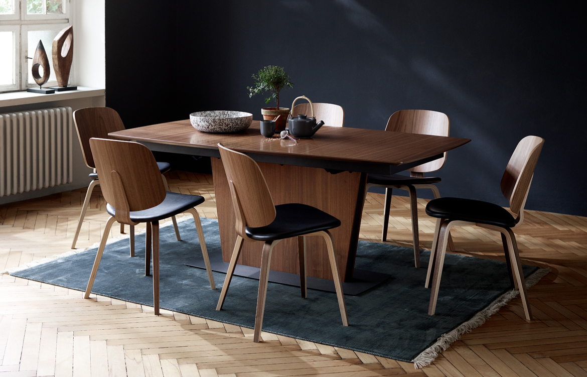 hl boconcept milano table 3. Black Bedroom Furniture Sets. Home Design Ideas