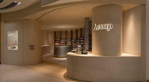 Aesop's New Store In Singapore Goes Au Naturel