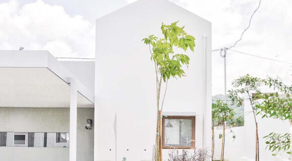 Luwist Spatial Designs a Row of Fun-Sized Affordable Homes