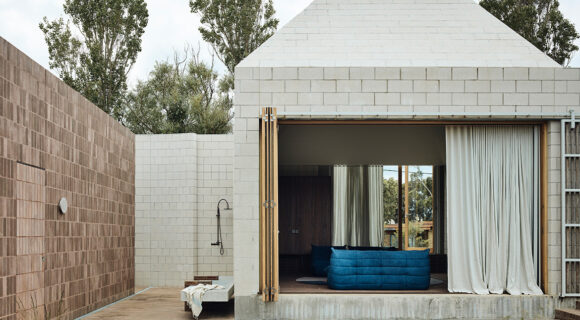 Bellows House Is An Architectural Sandcastle Made Concrete