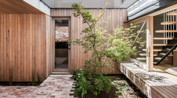 A Home With A Playful Solution To Outdoor Space