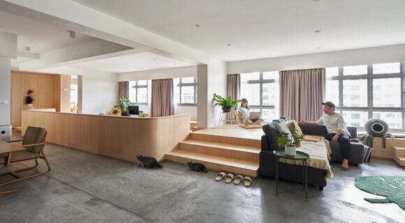 An Apartment With No Walls Pushes Liveability