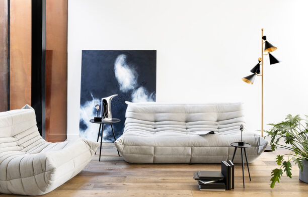Togo Sette by Ligne Roset from Domo | classic chunky lounge