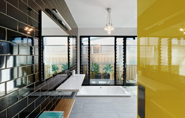 Habitus Living Laneway House Zen Architects bathroom